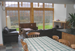 kitchen interior, self catering cottage